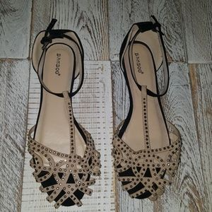 Bamboo Size 10 Sandals NWOT